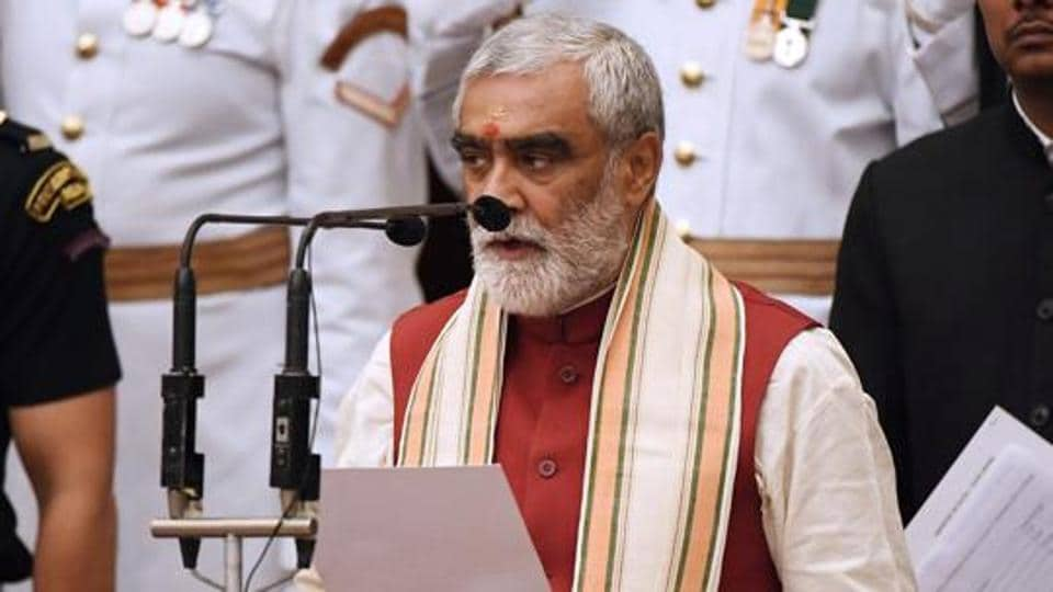Ashwini Kumar Choubey's son, Arjit Shashwat, was named in the FIR in connection with the rally organised to mark the new year as per Hindi calendar.