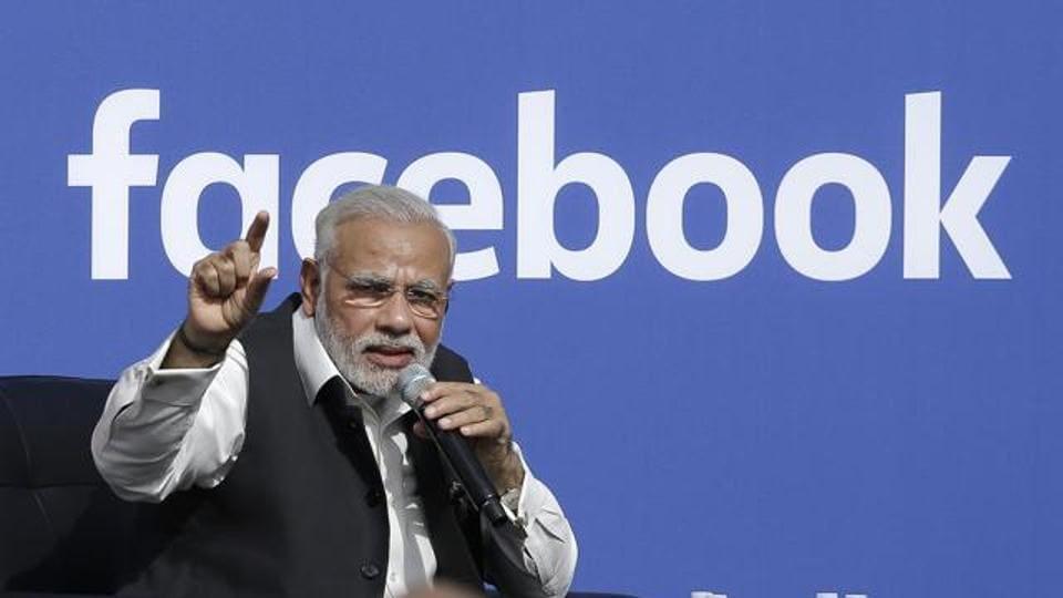 Prime Minister Narendra Modi speaks at Facebook in Menlo Park, California, Sept 27, 2015.