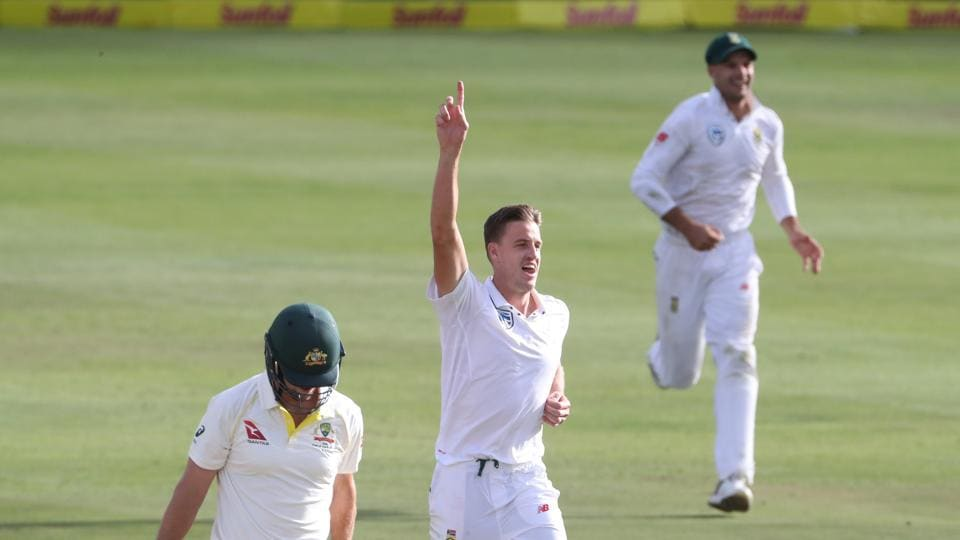 Australia were bowled out for a paltry 107, with Morkel taking his eighth five-wicket haul.  (REUTERS)