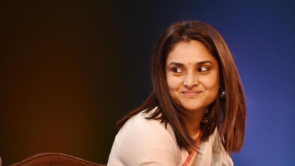 Congress' social media department head Divya Spandana.