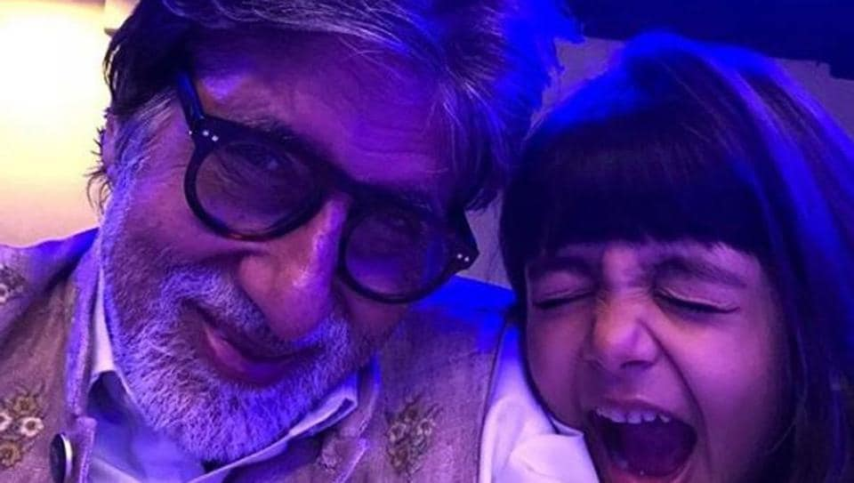 Granddaughter Aaradhya is one of Amitabh Bachchan's many admires.
