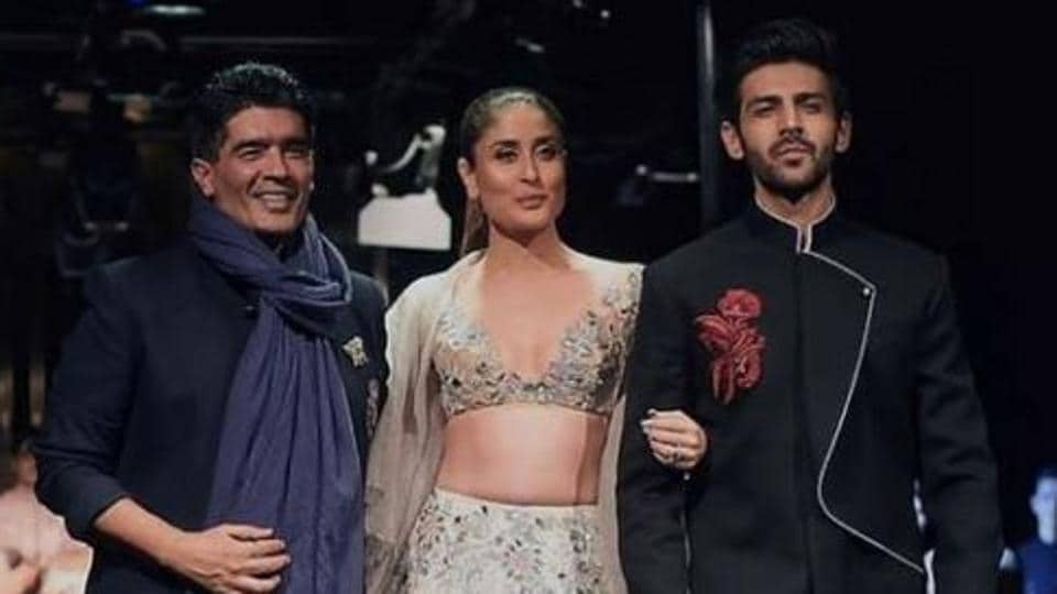 Kareena Kapoor,Kartik Aryan,Manish Malhotra