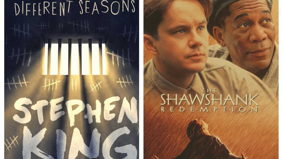 shawshank redemption book vs movie The movie while the book is not even a book, but a fourth part of one, a novella,  considered a minor success behind far greater works by king, the movie is an.