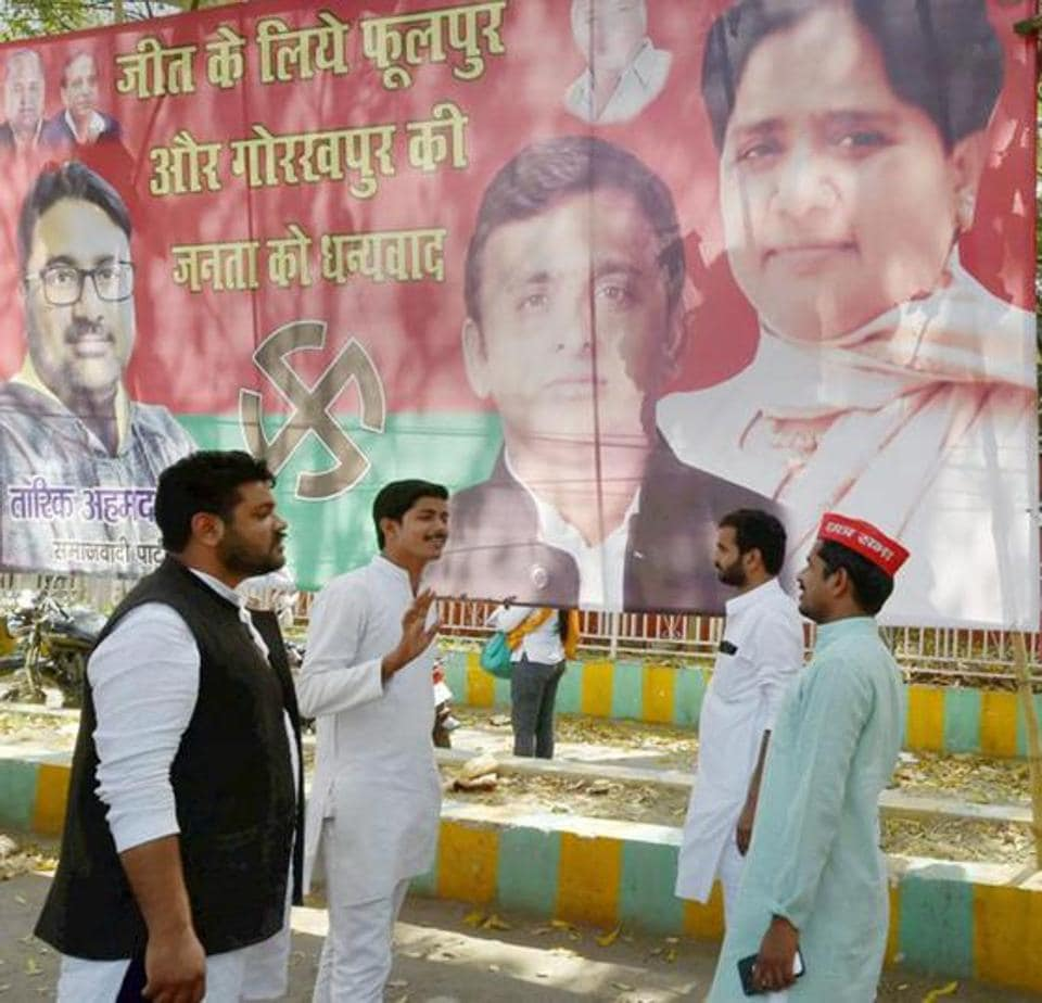 As the growing proximity between the SP and the BSP became a cause of increasing concern in the ruling alliance, the BJP fielded its ninth candidate to avenge the bypoll defeat.