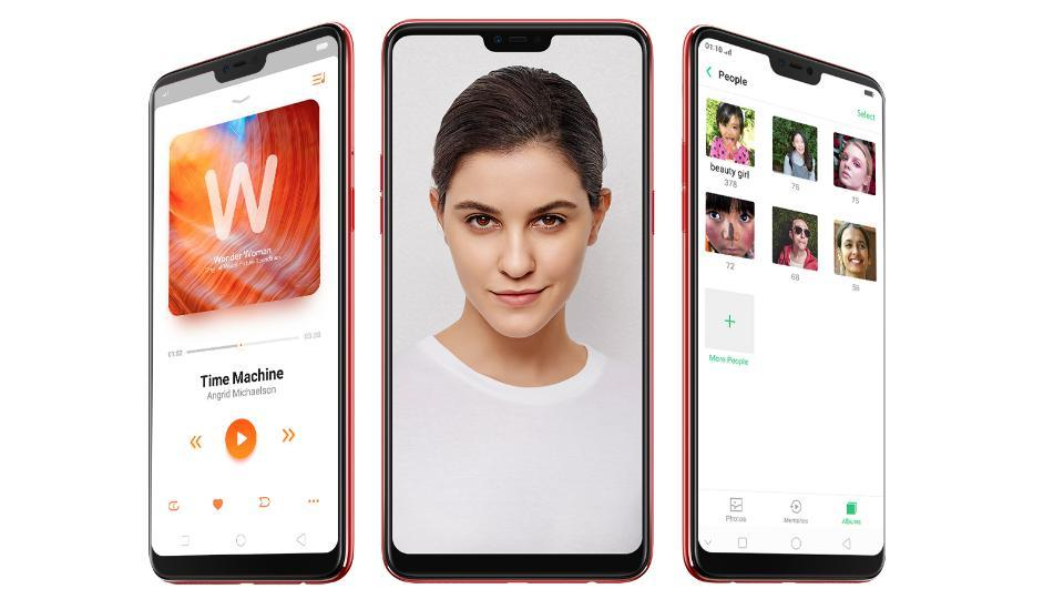 Oppo F7 launched in India, not that different from Vivo V9