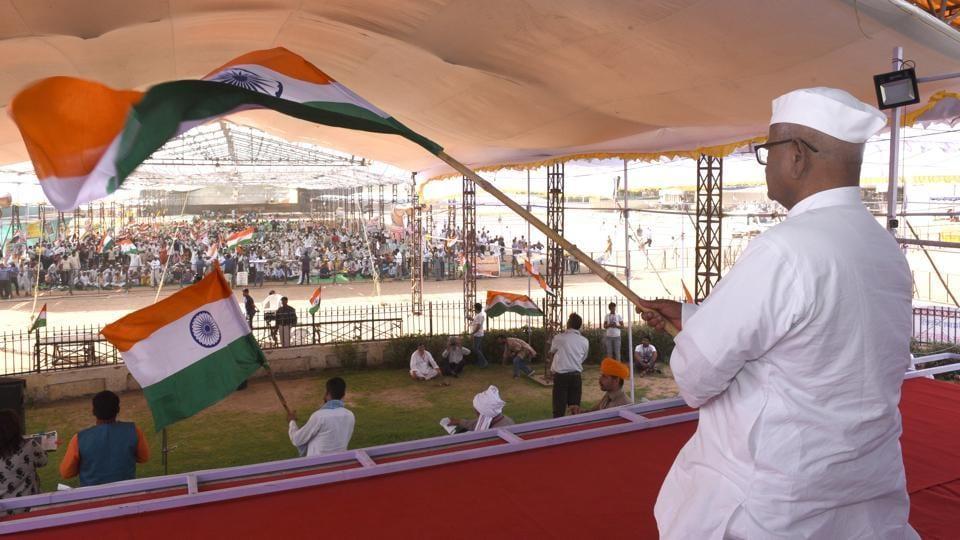 Hunger strike in Delhi,Anna Hazare protest,Anna Hazare fasting