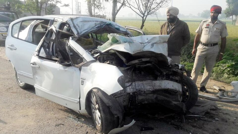 Mother-son duo killed, two hurt in Amritsar car accident | punjab ...