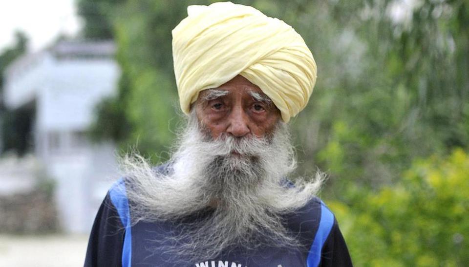 Fauja Singh,Run for Humanity,Ludhiana