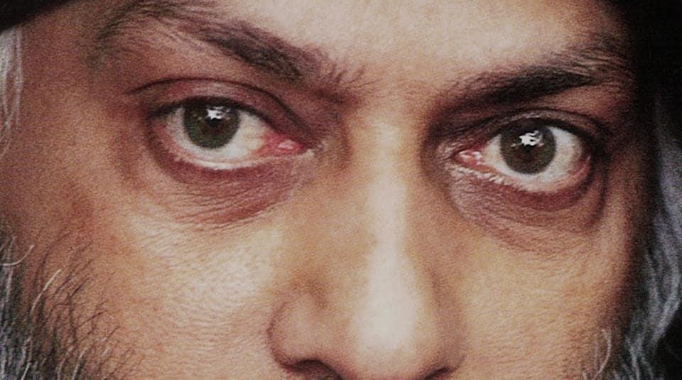 Bhagwan Shree Rajnees in a still from Netflix's Wild Wild Country.