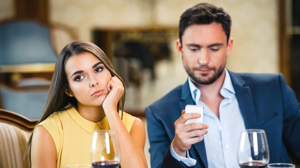 Phubbing is the practice of ignoring someone you're with in a social setting to concentrate on your mobile phone.