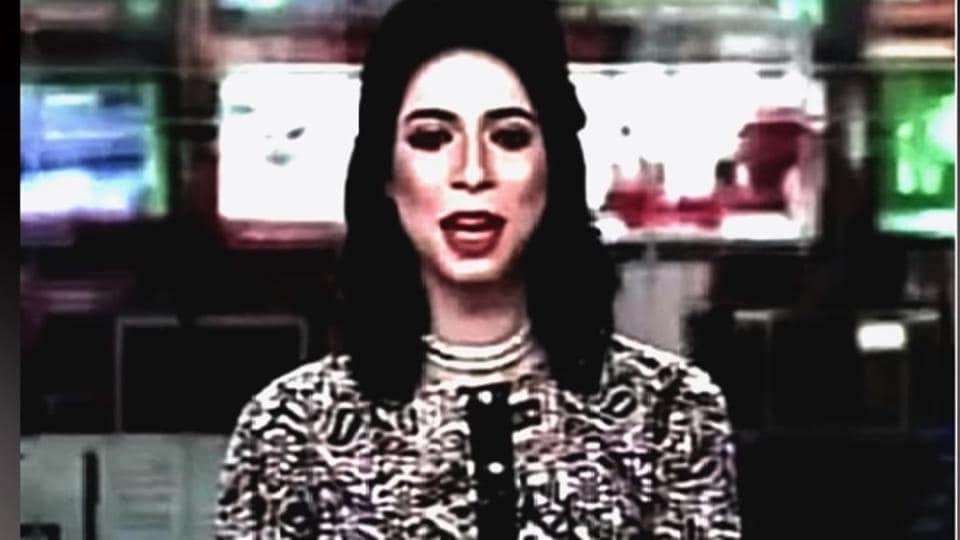 Transgender news anchor,Pakistani transgender,Marvia Malik