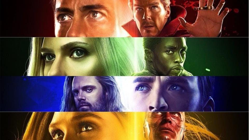 marvel unveils 5 new avengers: infinity war posters. let's decode