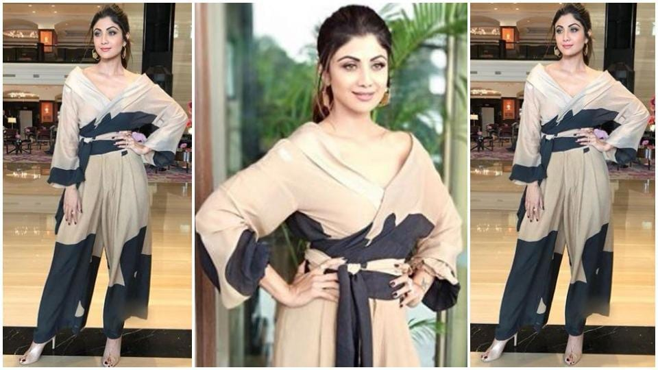 Go forth and have your most stylish summer outfit ever inspired by actor Shilpa Shetty's House of Masaba look. (Instagram)