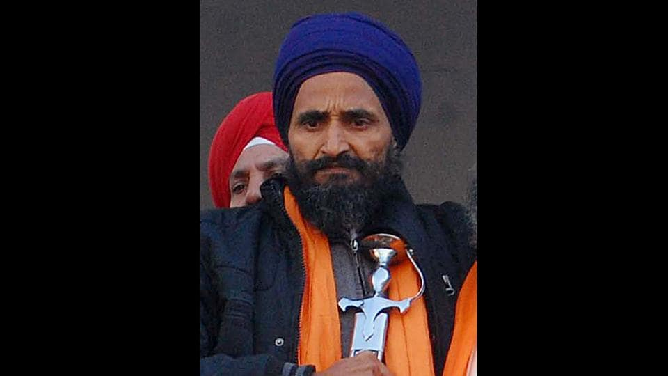 Khalsa suicide,Four FIRs registered,Sikh rights activist