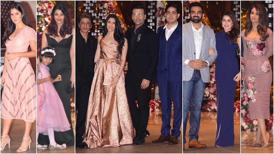 We've found celebrity party outfit ideas that you can copy from the Nita and Mukesh Ambani bash, so get clicking. (Instagram)