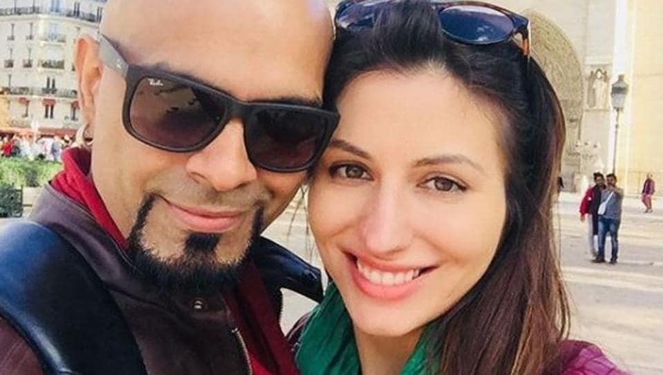 Raghu Ram and Natalie Di Luccio have been together for a year.