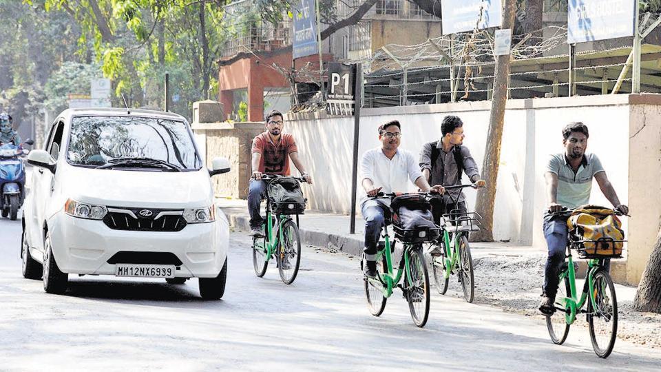 pune,maharashtra,public bicycle scheme