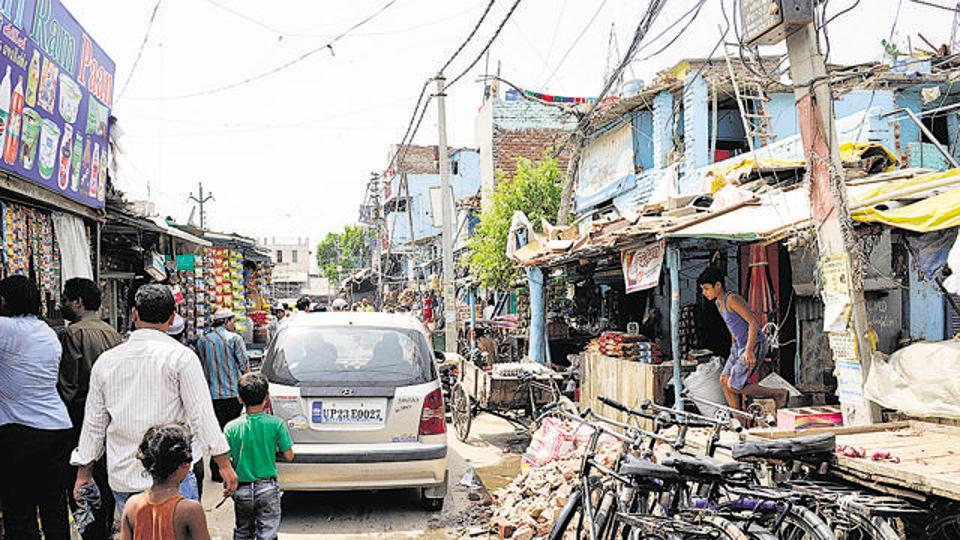 The authority had decided to provide flats to only those who were living in these slums till the end of 2010, as per the survey report.
