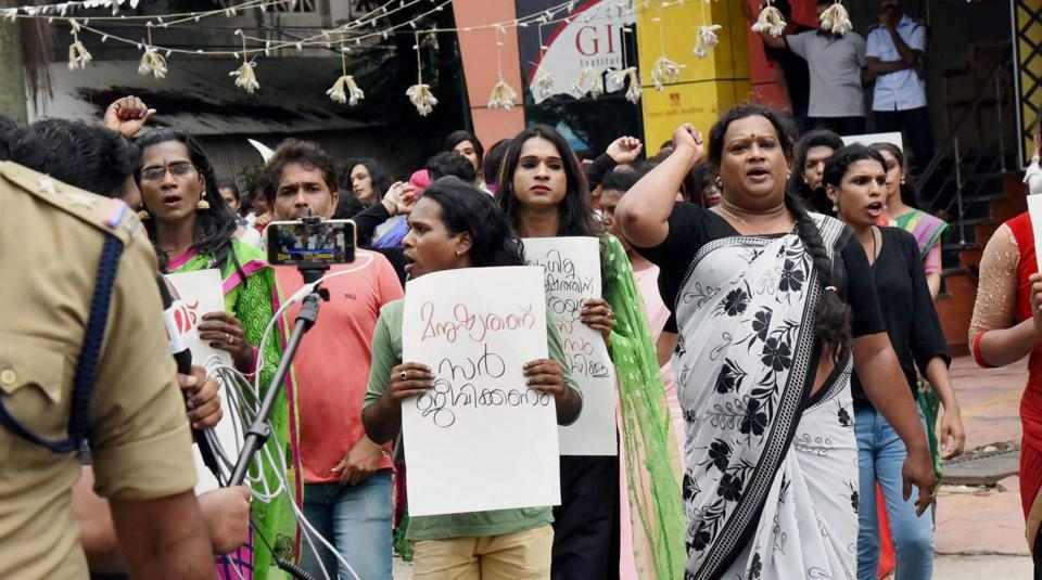 Transgender,Stripped,Kerala