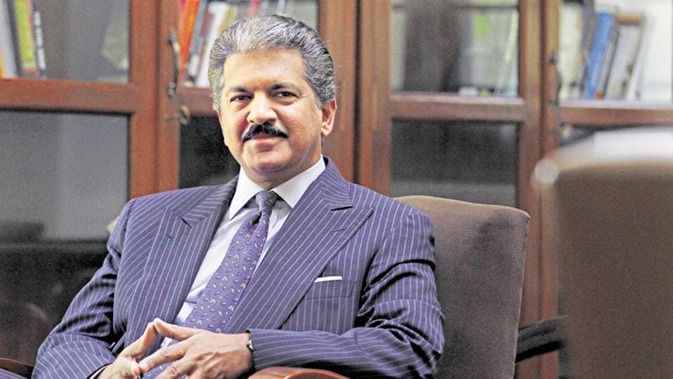 Anand Mahindra,Facebook,Indian social networking firm
