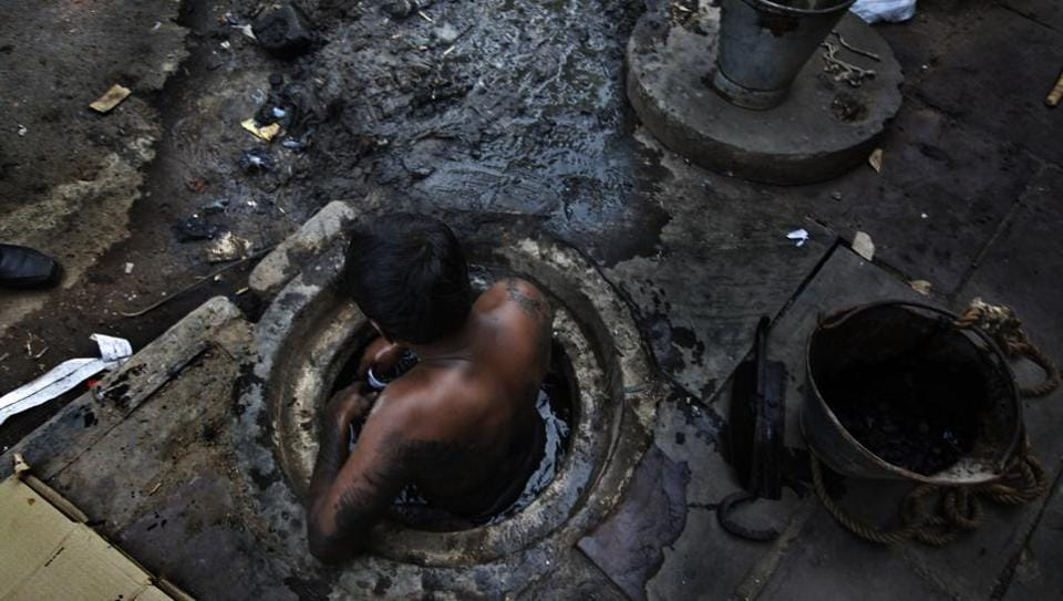 Manual scavenging,Swachh bharat,Manual scavenger