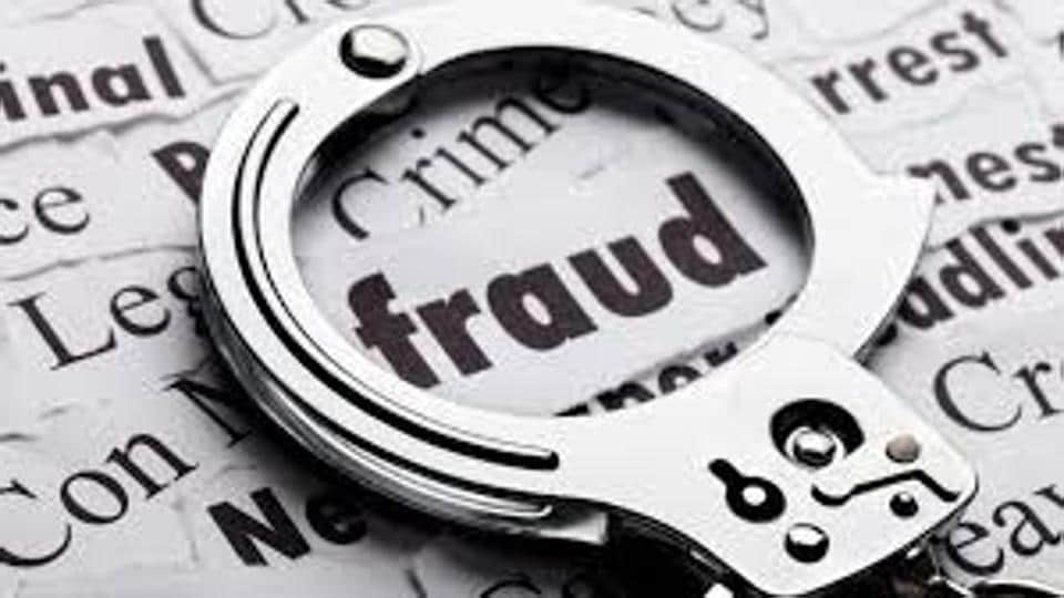 A father-son builder duo were booked for allegedly cheating four people of Rs1.8 crore