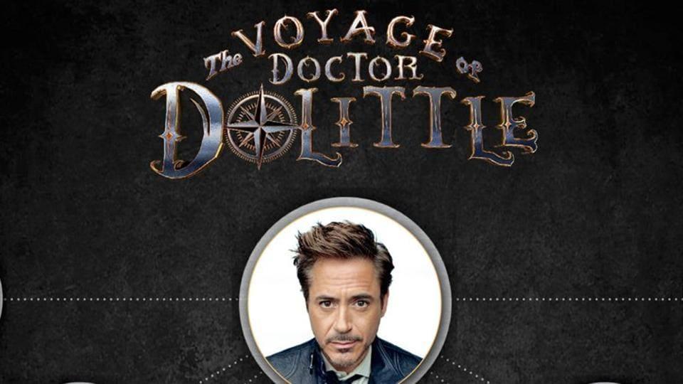 Robert Downey Jr,Doctor Doolittle,The Voyage of Dr Doolittle