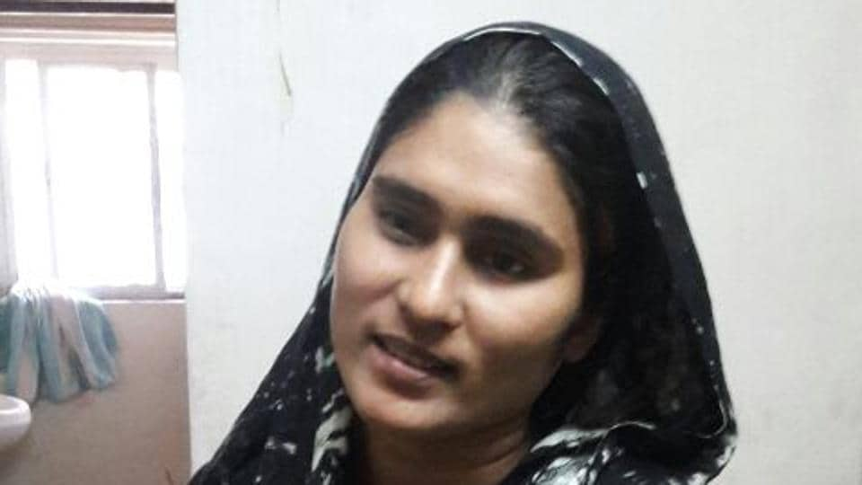 Ajmera Alam Khan's family lives on the 15th floor of a building in Sewri.