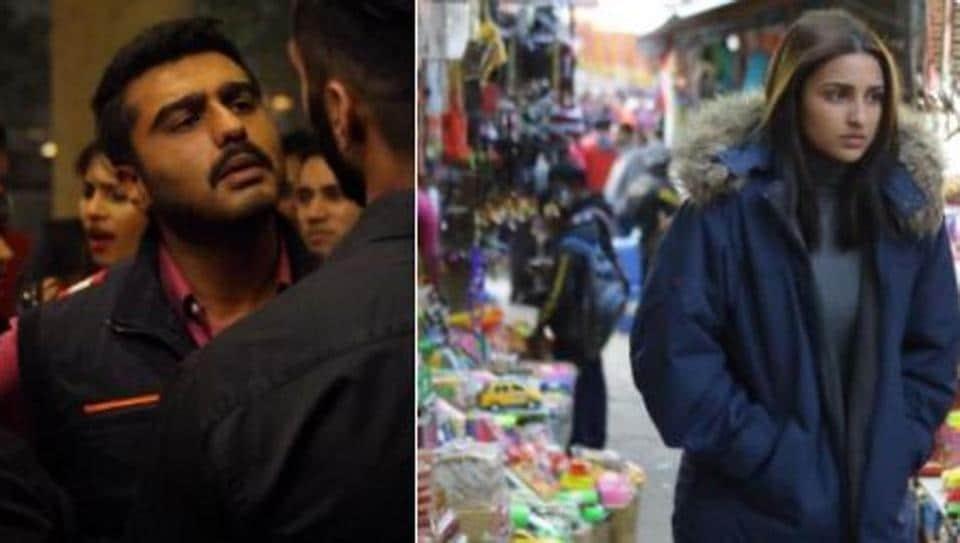 Arjun Kapoor and Parineeti Chopra in Sandeep and Pinky Faraar.