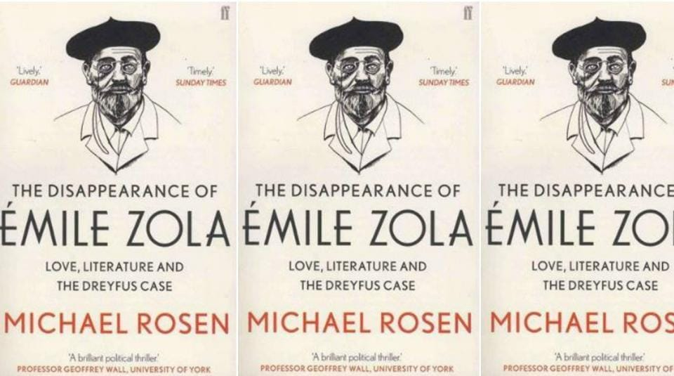 Book review,Emile Zola,Michael Rosen's The Disappearance of Emile Zola