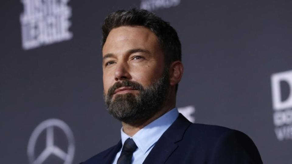 Ben Affleck a the world premiere of Warner Bros. Pictures' Justice League.