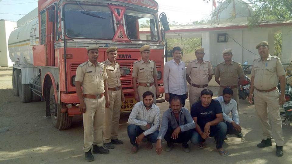 The accused arrested by the Sirohi police on Wednesday.