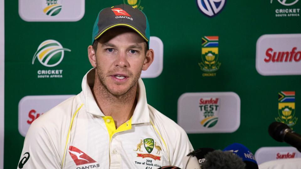 Tim Paine's grand gesture in first act as Australian cricket captain