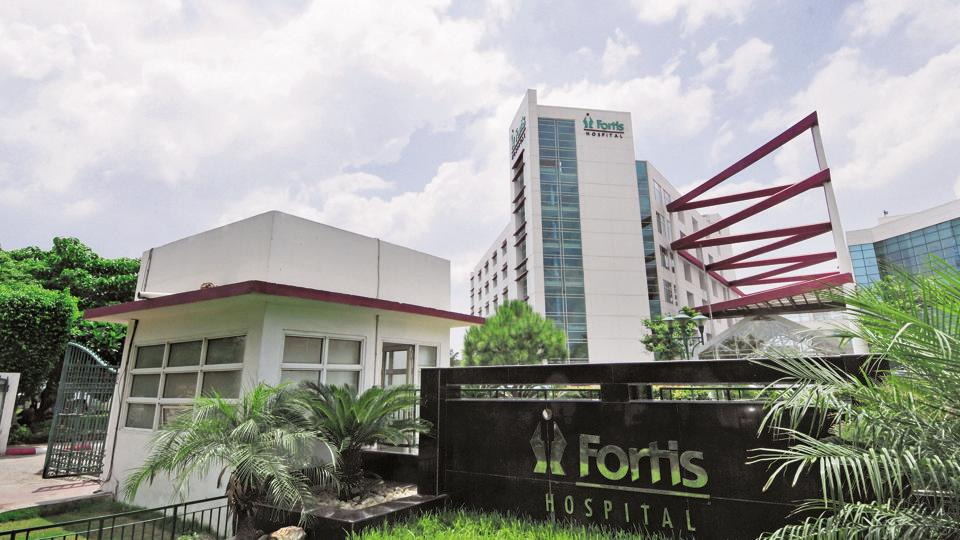 Fortis Hospital in Noida photographed by Ramesh Pathania on 13th August 2012.
