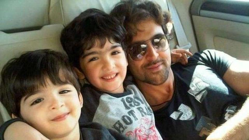 Hrithik Roshan wants his sons to follow the family's fitness routine.