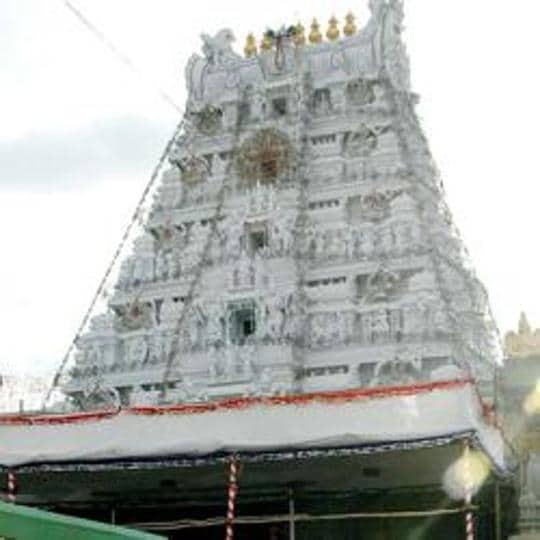 Lord Venkateshwara temple in Tirumala