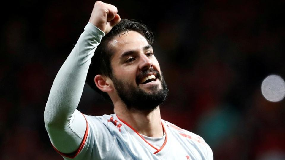 Isco scored a hat-trick to guide Spain to a sensational win over a Lionel Messi-less Argentina in Madrid on Tuesday.