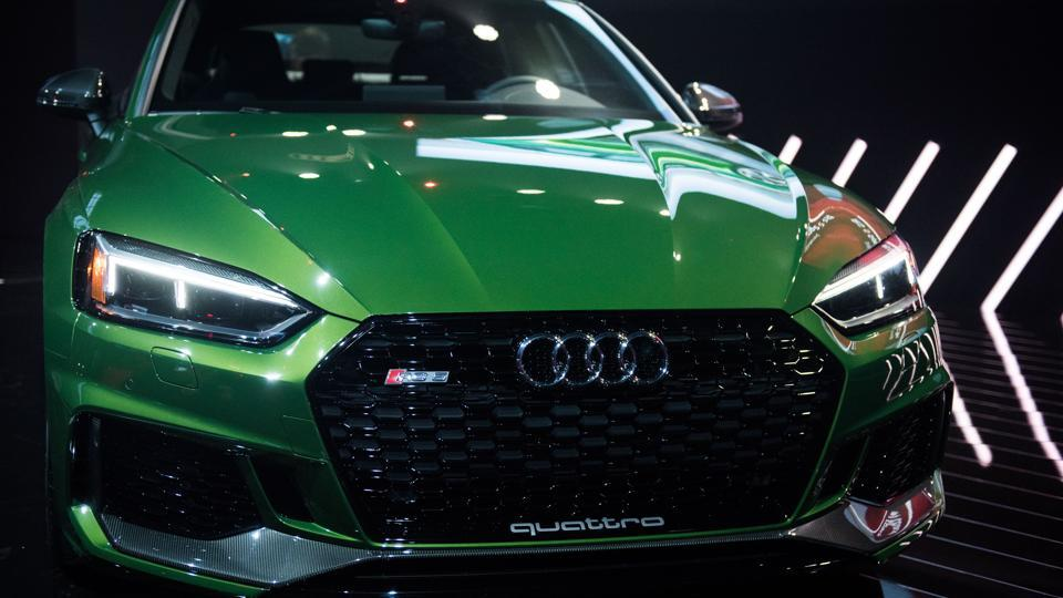 Audi RS 5 is the higher-tuned version of its $54,400 S5 Sportback.