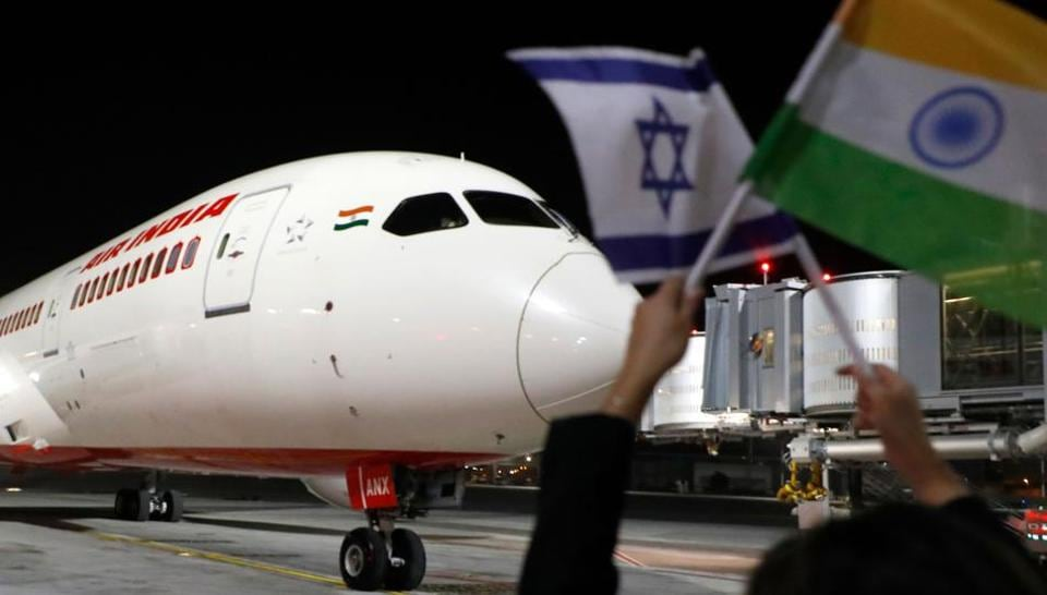 On March 22, Air India's maiden flight to Israel landed in Tel Aviv amid great fanfare, reducing the travel time by two hours after Saudi Arabia for the first time allowed an Israel-bound commercial flight to use its airspace.