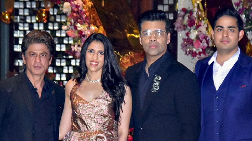 Photos! Shloka Mehta and Akash Ambani's pre-engagement party