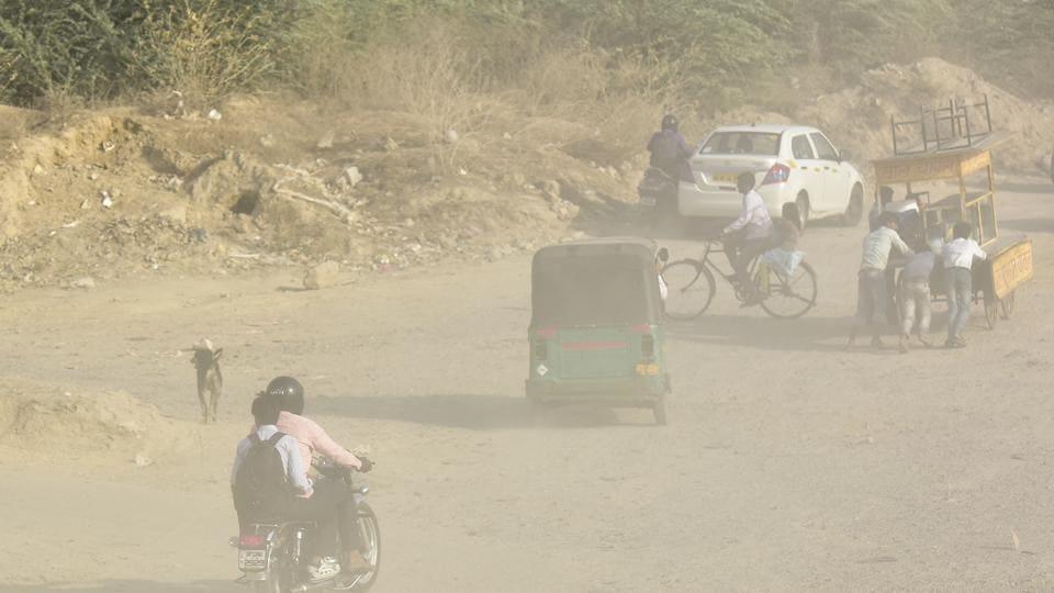 Noida,pollution,air quality