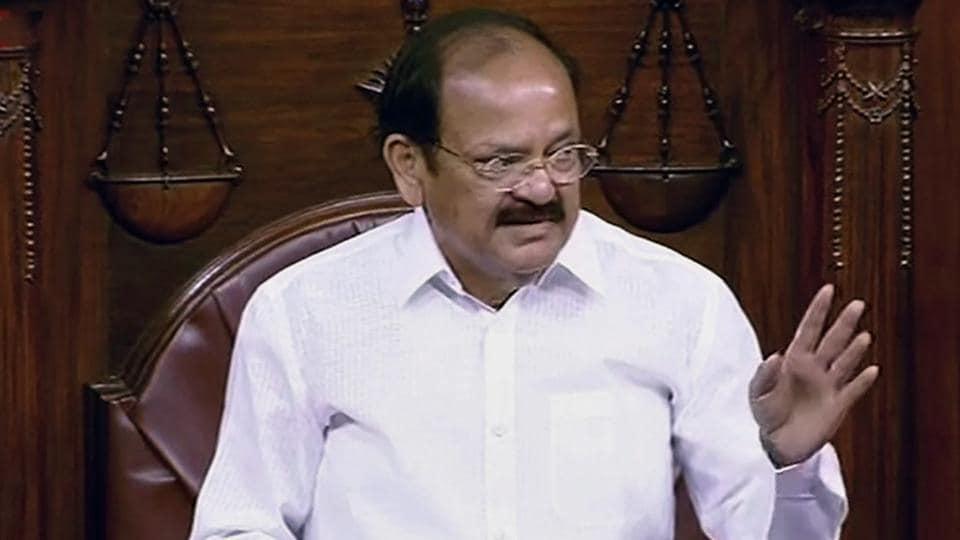 Rajya Sabha,Venkaiah Naidu,Rajya Sabha Disruptions