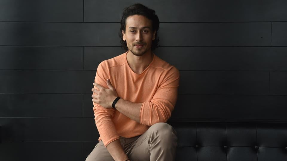 Tiger Shroff poses for photo at Penthouze, Koregaon Park in Pune.