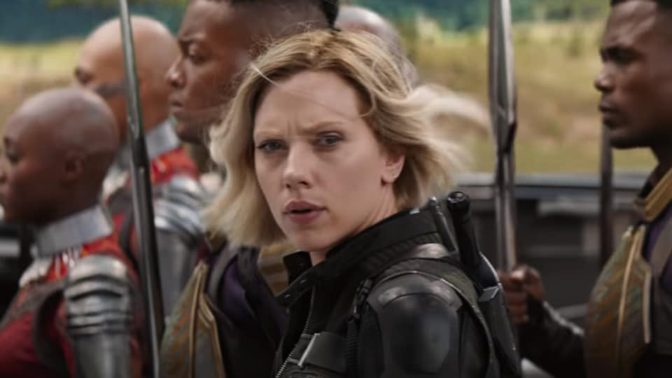 Scarlett Johansson's Black Widow has had yet another makeover in new Avengers: Infinity War TV spot.