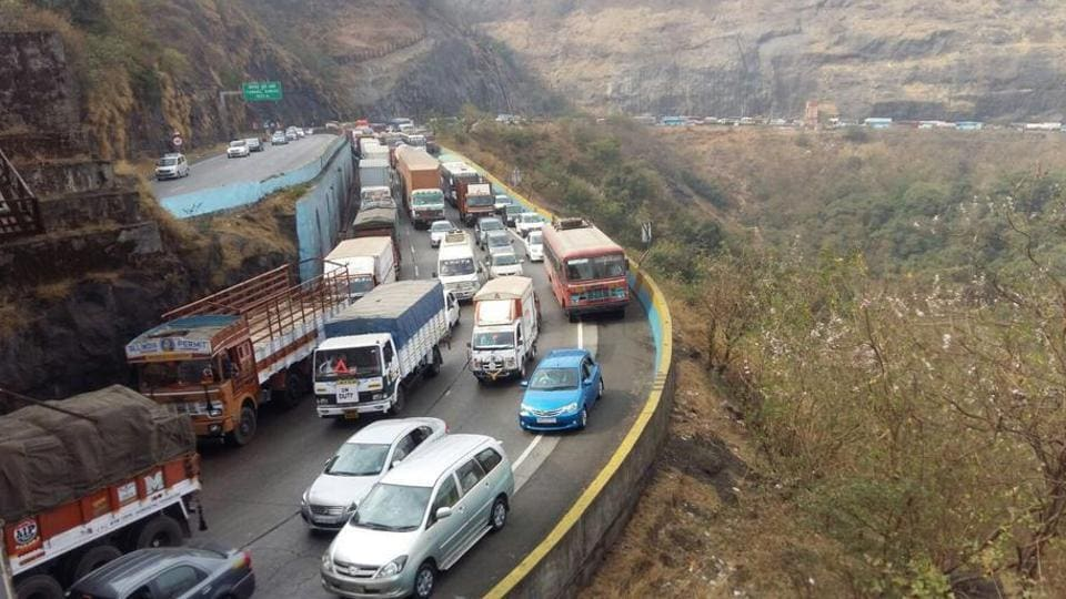 This land grab case involves land acquired for the Pune-Mumbai expressway.