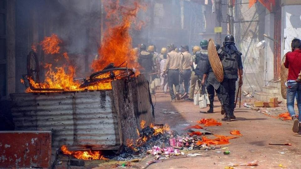 Ram Navami clashes,West Bengal,Ram Navami processions