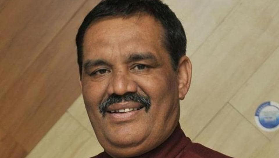 Union minister of state for social justice Vijay Sampla