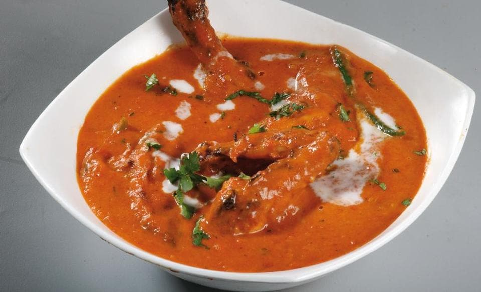 The original butter chicken was invented in the Moti Mahal kitchen in the 1950s