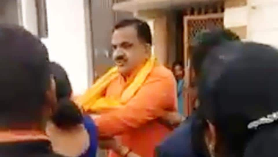 BJ MLA Rajkumar Thukral met BJP state unit president Ajay Bhatt and chief minister Trivendra Singh Rawat in Dehradun on Thursday and presented a six-page explanation to them.