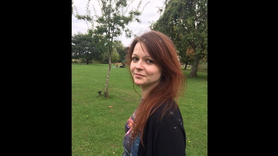 File image of Yulia Skripal, the daughter of former Russian Spy Sergei Skripal, taken from her Facebook account on March 6.